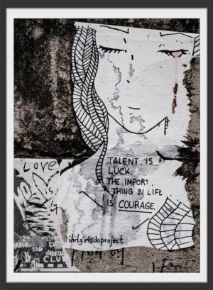 Plakat Courage
