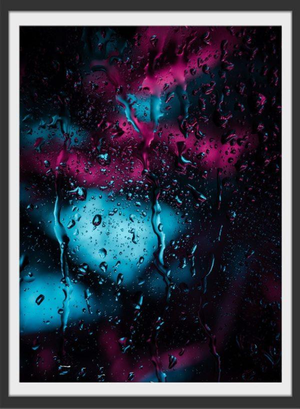 Plakat Raindrops