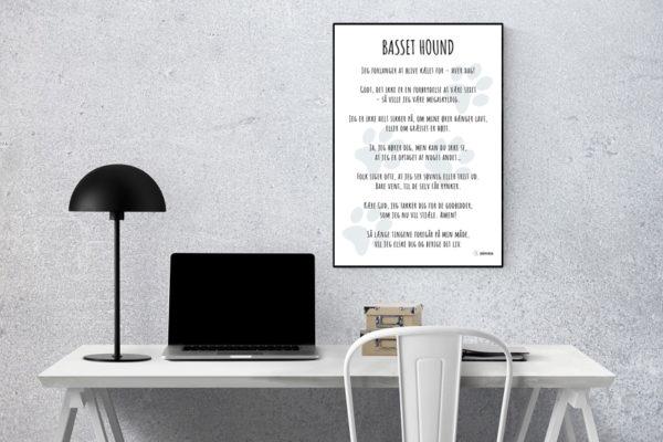Plakat Basset Hound
