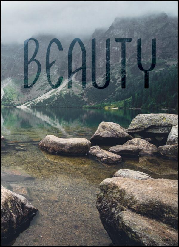 Beauty plakat