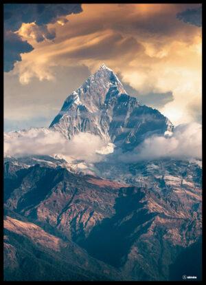 Bjerget plakat
