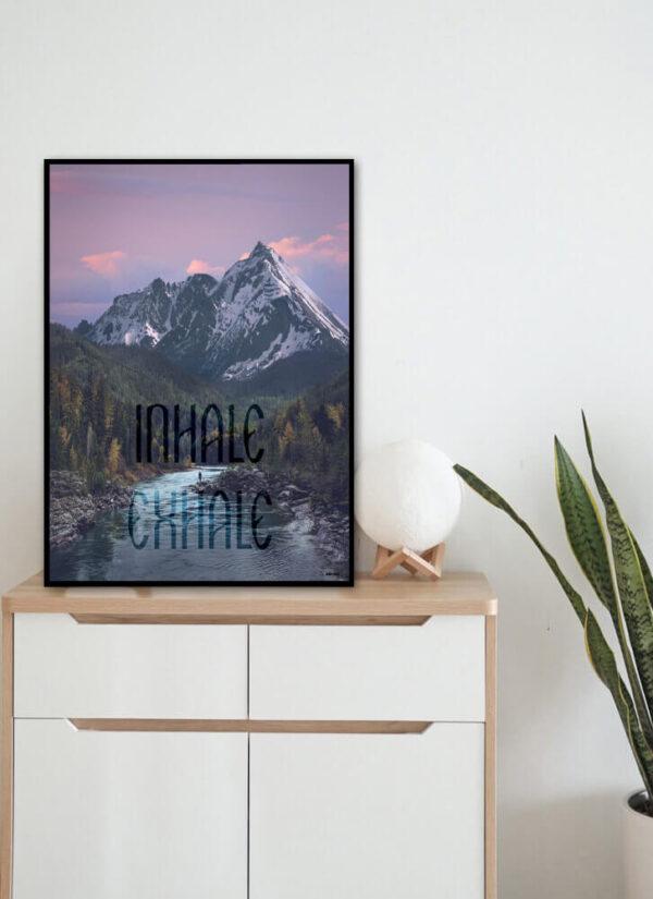 Inhale - Exhale fotokunst