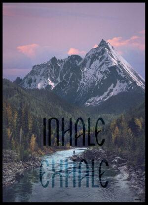 Inhale - Exhale plakat