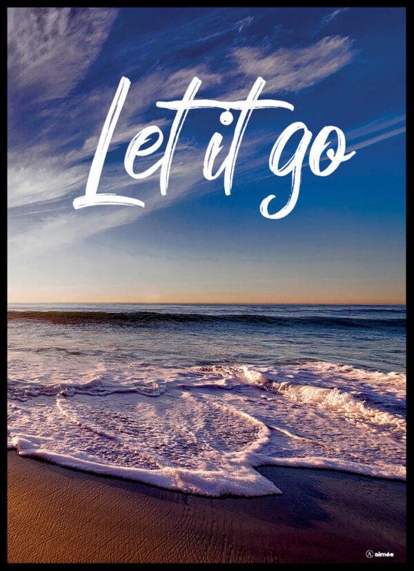 Let it go plakat