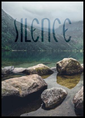 Silence plakat