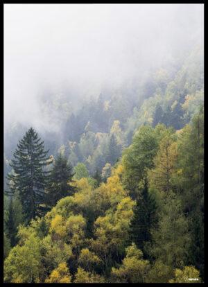 Tågen over skoven plakat
