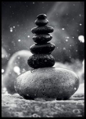 Balancen i naturen plakat