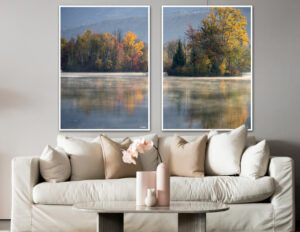 The lake fotokunst