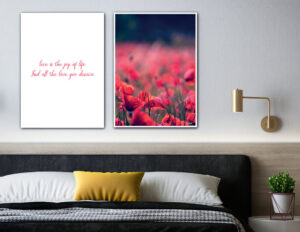 Love and joy fotokunst